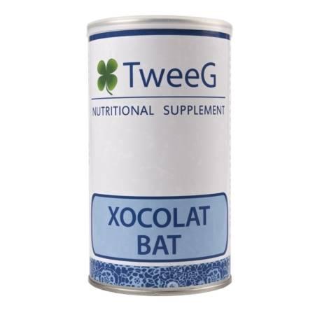 BAT xoco. TweeG batidos de proteínas. Suplemento Dietético.