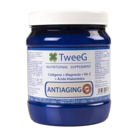 TweeG antiaging 300 g. Fórmula Antiedad con Colágeno y Ácido Hialurónico