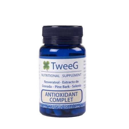 Tweeg antioxidant Complet. Fórmula Antioxidante. Previene el Envejecimiento.