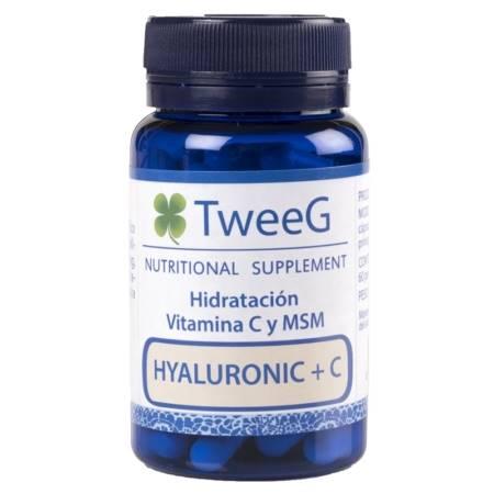 TweeG Hyaluronic Ácido Hialurónico + Vitamina C, Colágeno y Magnesio