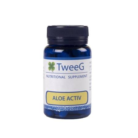 TweeG Aloe Activ 60 Cápsulas. Regulador Intestinal a Base de Aloe Vera