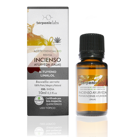 Aceite Esencial Incienso Ayurveda Bio