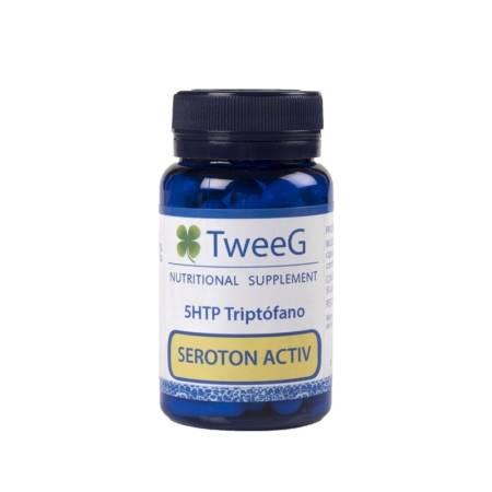 Seroton Activ, Controla el Estrés y Mejora la Calidad del Sueño, 50 cápsulas.