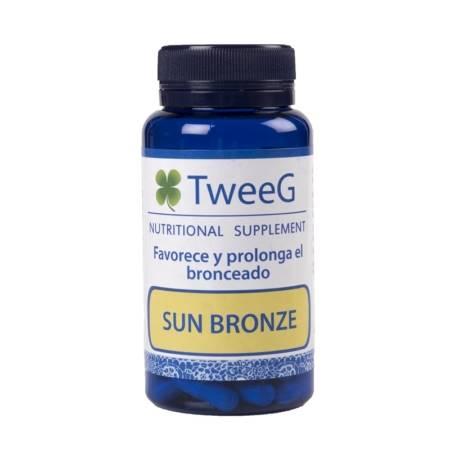 TweeG Sun Bronze Fortalecedor y Prolongador del Bronceado. 60 Cápsulas