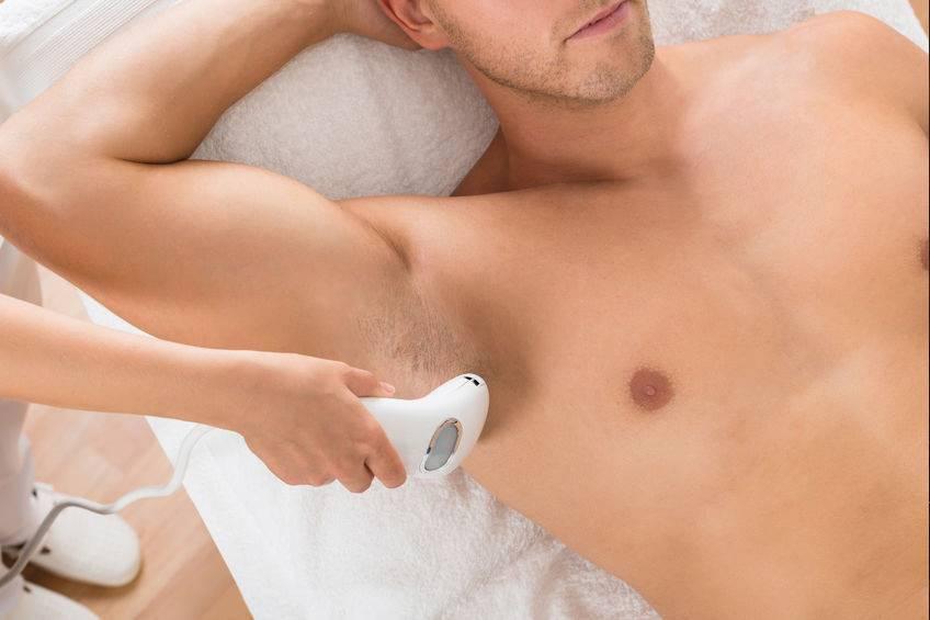 depilación laser torso