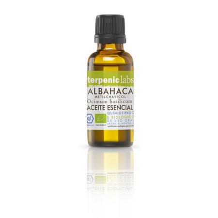 Aurum Wellbeing Aceite Esencial ALBAHACA METIL CHAVICOL 30ml 8436553168546