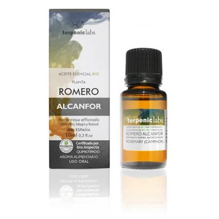 Aceite Esencial Romero Alcanfor 10 ml.