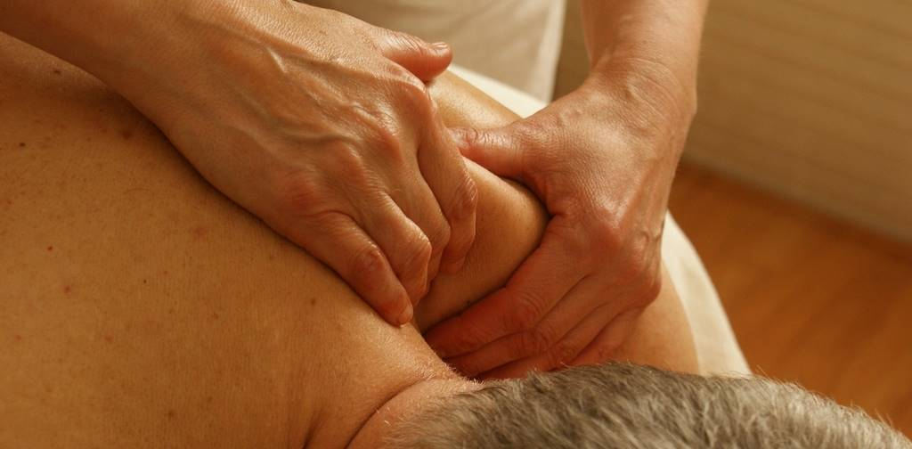 decontracting massage in Barcelona