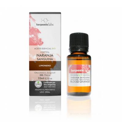 Aurum Wellbeing Aceite Esencial Naranja Sanguina BIO 10 ml TERPENIC LABS