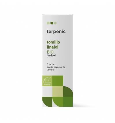 Aurum Wellbeing Organic Thyme Linalol Essential Oil 5 ml Terpenic Labs