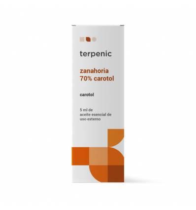 Aurum Wellbeing Carrot Essential Oil 70% Carotol 5 ml Terpenic Labs