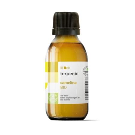 Aurum Wellbeing Organic Virgin Camelina Vegetable Oil 100 ml Terpenic Labs