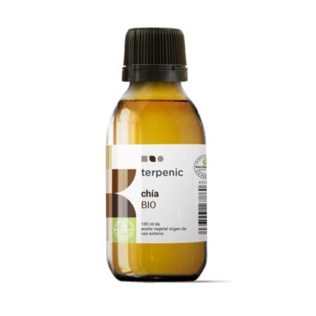 Aurum Wellbeing Organic Virgin Chia Vegetable Oil 100 ml Terpenic Labs