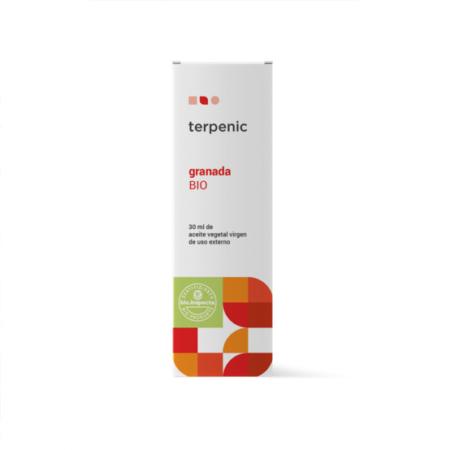 Aurum Wellbeing Aceite Vegetal Virgen Granada BIO 30 ml TERPENIC LABS