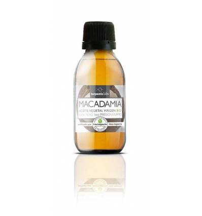 Aurum Wellbeing Aceite Vegetal Virgen Macadamia 100 ml Terpenic Labs