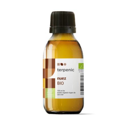 Aurum Wellbeing Aceite Vegetal Virgen Nuez BIO 100 ml TERPENIC LABS