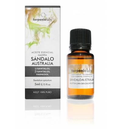 Aurum Wellbeing Australia Sandalwood Essential Oil 5 ml Terpenic labs