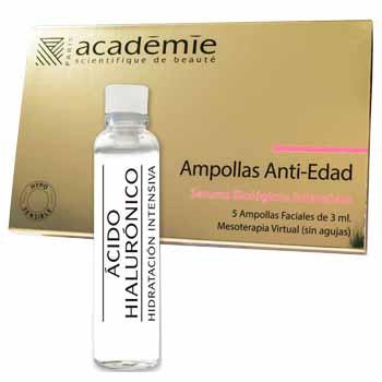 Aurum wellbeing Academie Ampollas de Ácido Hialurónico Antiedad