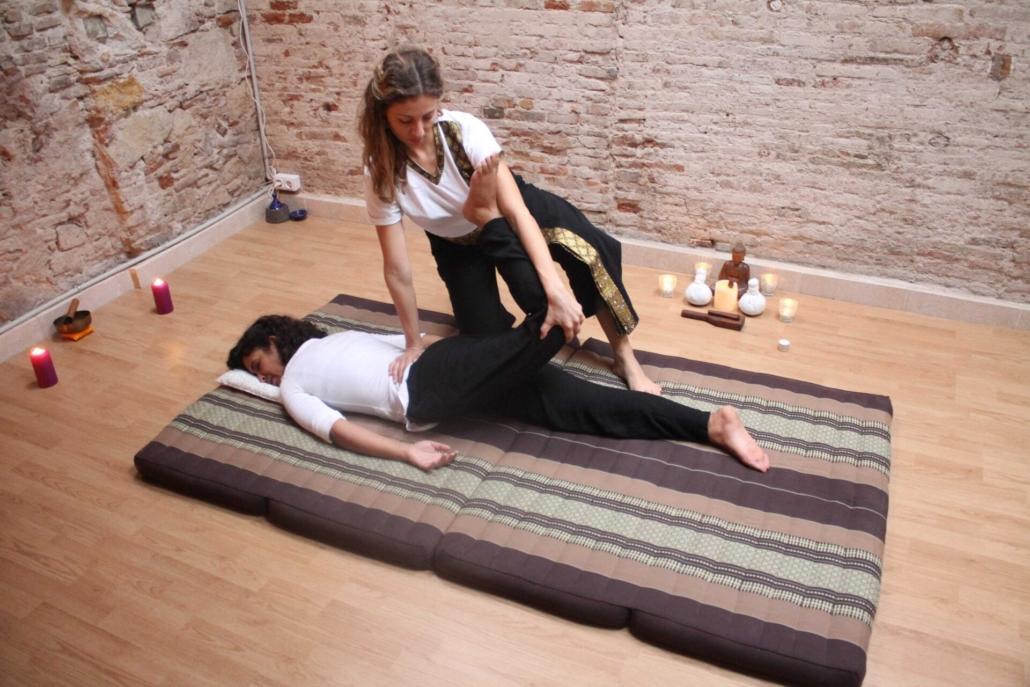 curso intensivo de masaje thai