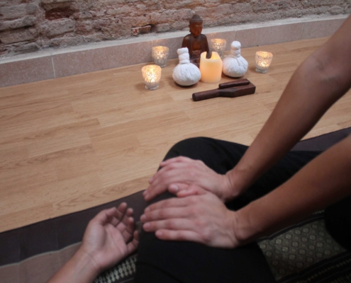 curso intensivo masaje tailandés