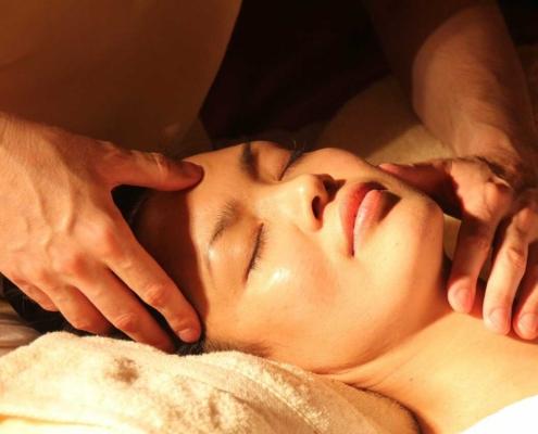Curso de masaje facial japonés